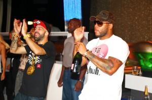 DJ ENTICE & Flo-Rida in ST Tropez