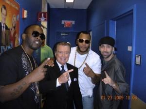 DJ ENTICE w/ Flo-Rida, Regis Philbin, 4Mill