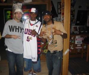 DJ ENTICE, Cam'ron, & Jim Jones