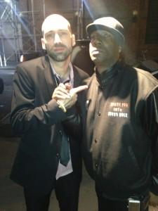 DJ ENTICE & GRANDMASTER FLASH @ GLOBAL SPIN AWARDS