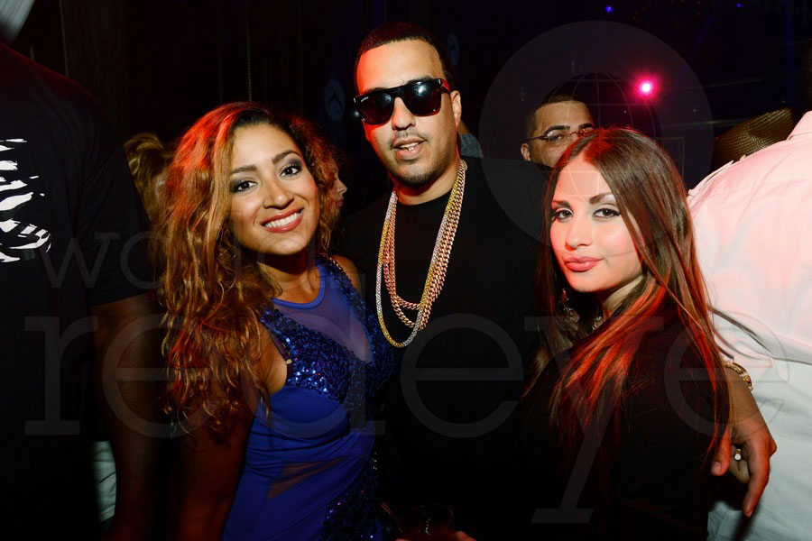 French Montana and friends