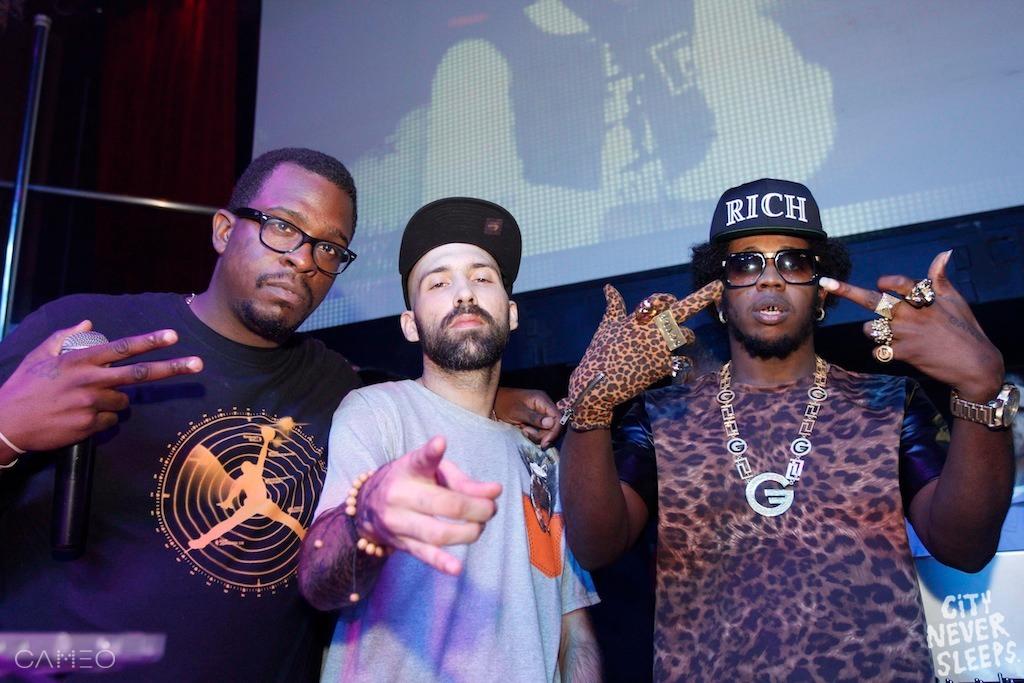 TJ, DJ ENTICE & DJ BULLETPROOF