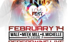 lovefest 5x5 flyer